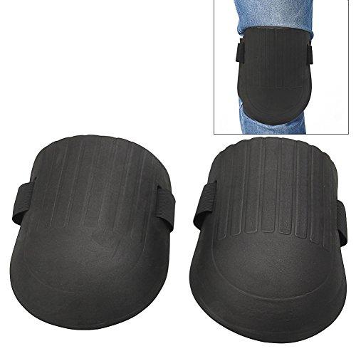 showkingl, 1 paio di ginocchiere flessibili in morbida schiuma, protettive, per sport, lavoro, giardinaggio, costruttori