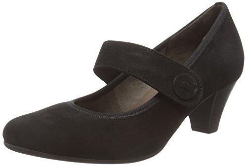 Gabor Shoes Basic, Scarpe con Tacco Donna, Nero (Schwarz 17), 40.5 EU