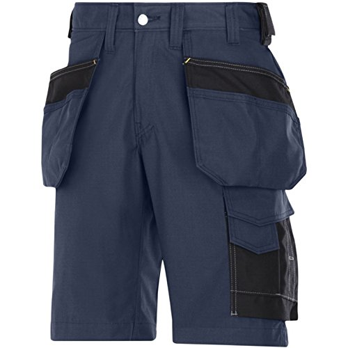 Snickers Handwerker Shorts HP Navy Gr. 46 - - Navy/Black