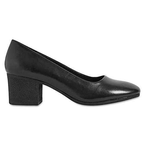Marks & Spencer Footglove™ T028302 Leather Crepe Effect Court Shoes RRP £45...