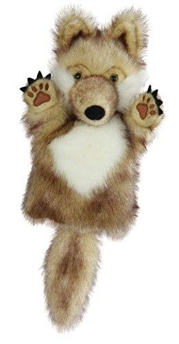 öse Wölfe - Tier Wald Waldtier - Handspielpuppe Kasperlfigur - Plüschtier für Kinder & Erwachsene - Waldtiere gefährlich Märchen (Tier-handpuppen)