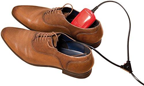 PEARL Skischuhwärmer: Elektrischer Schuhtrockner mit 2 Trocken-Modulen, 10 Watt, bis 40 °C (Schuhheizung zum Vorwärmen)
