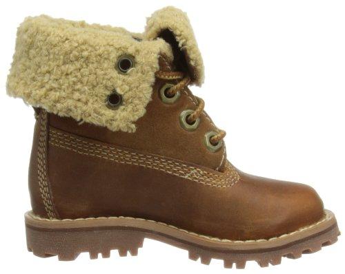 Timberland Auth 6In Shrl Bt Brown, Boots mixte enfant Marron (Rust Nubuck)