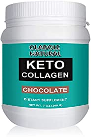 Oladole Natural Keto Collagen Powder with MCT Oil Powder Perfect for Keto - Energy Boost - Nutrient Absorption