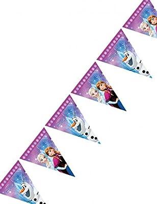 Procos 86921-filare banderines Disney Frozen Northern Lights, multicolor de Procos