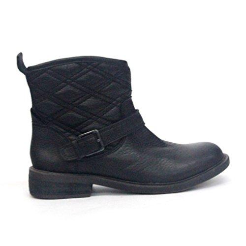 Lucky Brand Cheville Bottes, Taille UK 3,5-New Arrival Noir - Noir vieilli