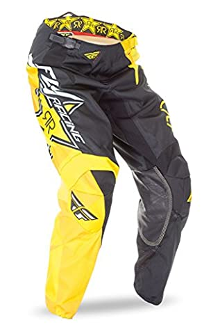 FLY MOTOCROSS / MTB 2016 Pantalon Kinetic Rockstar - noir jaune - Noir/Jaune, 34 (EU 50)