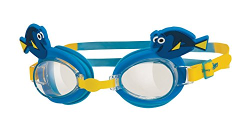 Zoggs Kinder Dory Kids Character Goggle Schwimmbrille Blau/Gelb 1-6 Jahre