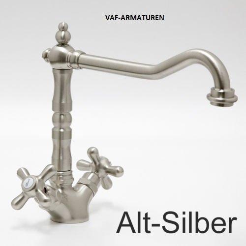 mitigeur-haute-pression-alto-argent-robinet-de-cuisine-mitigeur-nostalgie-robinet-de-designer-robine
