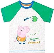Peppa Pig Camiseta de Manga Corta para niños George Pig