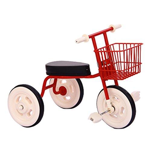 QWM-Baby bicyclettes enfants Chariots de tricycle pour enfants Carrières pour bébés Enfant Bicyclettes 3 roues, pliable, 1-3 ans (multicolores facultatif) Cadeau pour enfants