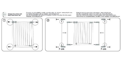 Safety 1st Quick Close ST Verlängerung – 28 cm - 5
