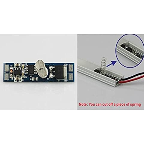 LED DIMMER INTERRUTTORE TOUCH PER PROFILI IN