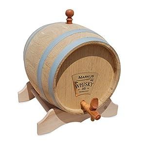 Eichenfass 2 Liter mit Personalisierung für Whisky, Brände, Wein