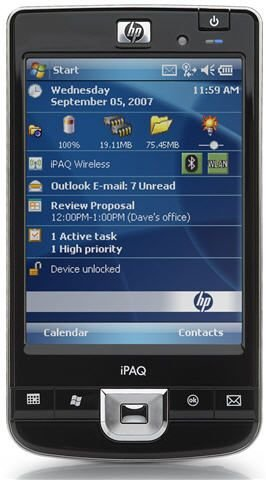 HP iPAQ 214 Enterprise Handheld (Windows Mobile 6.0) Ipaq Mobile