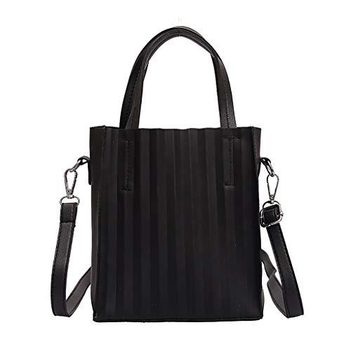 Floweworld Damen Wellenmuster Umhängetaschen Schlanke, minimalistische Umhängetaschen Fashion Square Messenger Bag