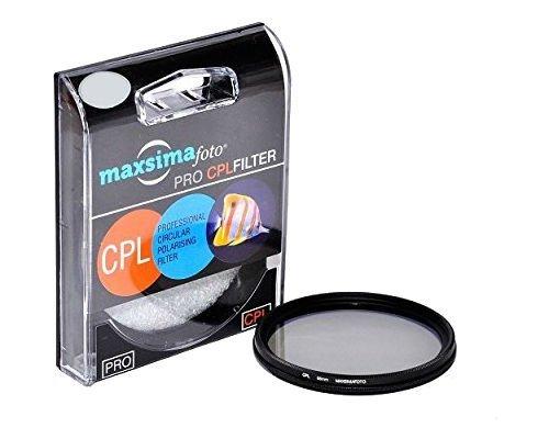 Maxsimafoto 62 mm, CPL, FLD, CPL, Polarisationsfilter für Panasonic Lumix DMC-FZ1000 Bridge Kamera, FZ1000EB, FZ1000.