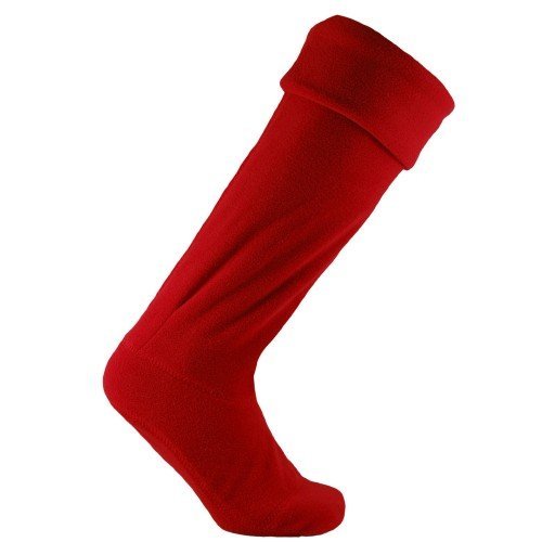 Horizon - Calcetines polar para botas de agua unisex (40-42 EU/Rojo)