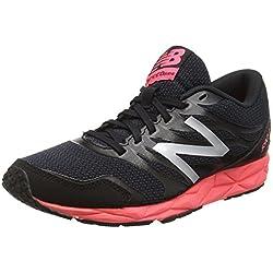 New Balance 590, Zapatillas de Running, Mujer, Multicolor (Black/Pink 018), 40 EU