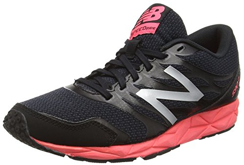 New Balance 590 - Scarpe Running Donna, Multicolore (Black/Pink 018), 39 EU