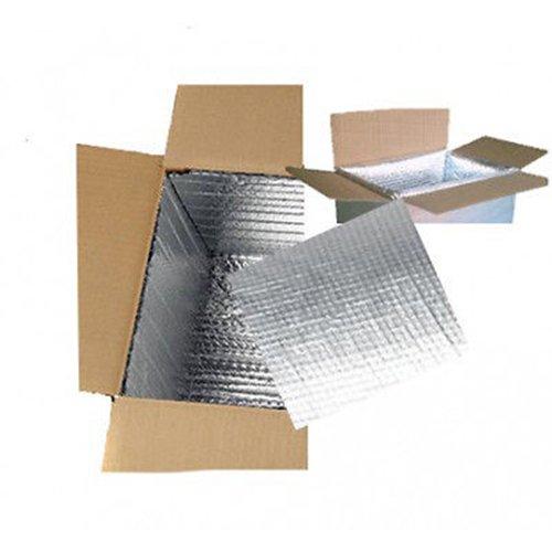 Thermofolie Luftpolsterfolie ALU - 3 lagig - 100cm x 10m