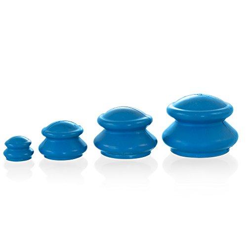 Gummi Schröpfköpfe Schröpf Set | 4 Stück