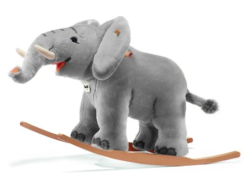 Steiff 48944 Trampili, Reit-Elefant 70cm, grau