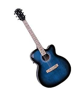 Signature Musicals NSMBT001 Topaz Guitar( Blue )