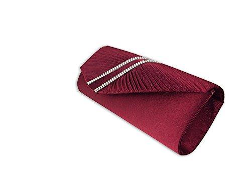 Xpgg Borse Da Sera-festa-borsa-pochette-signore Borsa Da Sera 001 Rosso
