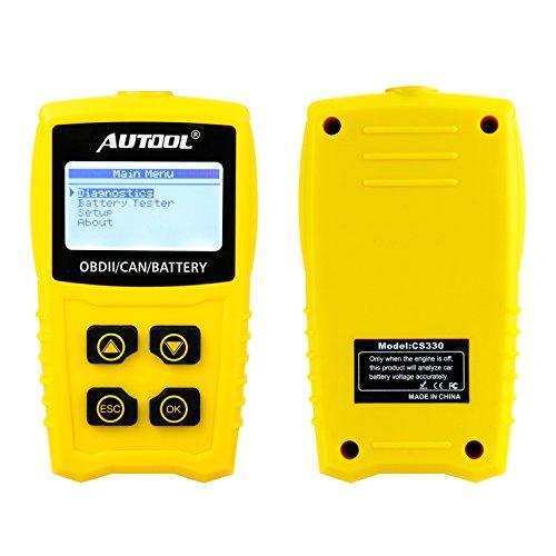 Auto Codeleser CS330 Scan für OBDII / EOBD / CAN Automotive Scanner Auto OBD2 Diagnose Tool Unterstützung Analysieren Autobatterie Spannung Genau - 5