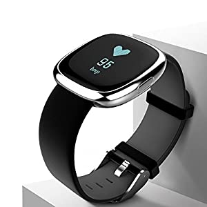 411LaFrHxKL. SS300  - ZHOUYANSmart Blood Pressure Bracelet Bluetooth Sports Step Energy Heart Rate Monitor Bracelet