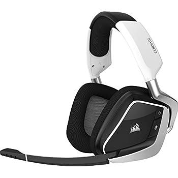 Corsair Void Pro RGB Wireless Casque Gaming (PC, sans Fil, Dolby 7.1) Blanc