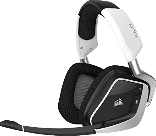 Foto Corsair VOID PRO RGB Wireless Cuffie da Gioco per PC, senza Fili, Dolby 7.1,...