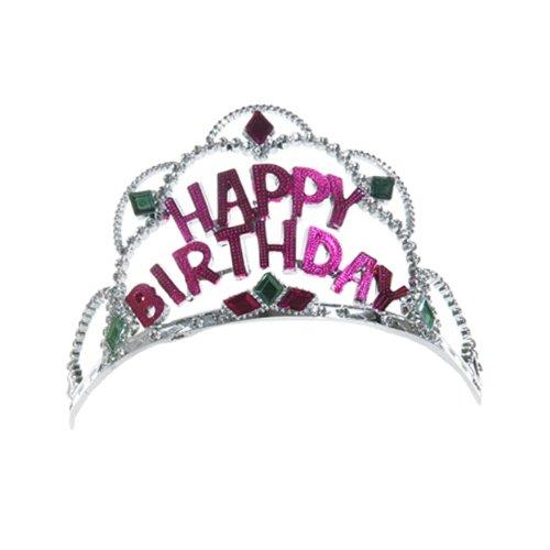 "CEPEWA Krone ""Happy Birthday"" Kunststoff"