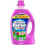 Weißer Riese Color Gel, Waschmittel, 96 WL, 2er Pack (2 x 48 WL)