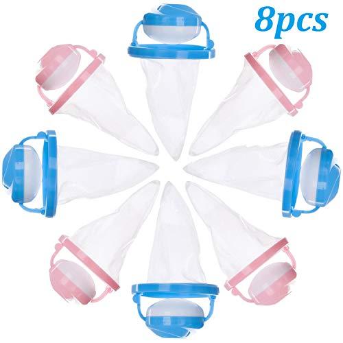 Bolsas de malla flotante - WENTS reutilizables para lavadora, bolsa de filtro flotante, con forma de flor, para lavandería, pelusas, pelotas, atrapa pelos de mascotas