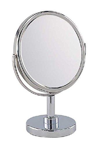Frasco Stellspiegel 16cm 5-fach Vergrößerung Chrom, 94730740