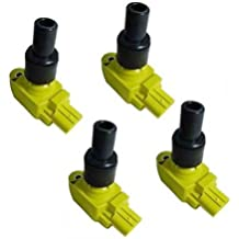 IC231 B2875Y*4 UF501 N3H118100 Yellow 04-11 Mazda RX-8 Set 4 Ignition Coil 04 05 06 07 08 09 2010 2011 by MotorKing