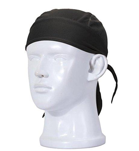 FREEMASTER Sports Bandana Cap Schwarz Rot Weiß Herrem Damen Biker Bandanas Kopftuch Hat