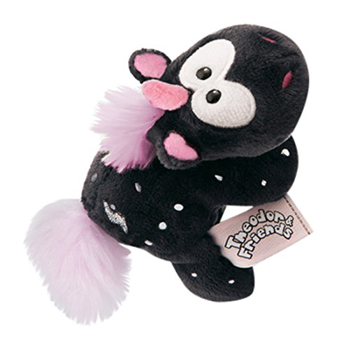 Nici 41414 Theodor and Friends Magnettier Einhorn Carbon Flash, 12 cm
