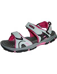 Womens Dunlop Flat Open Toe Sports Trekking Sandals