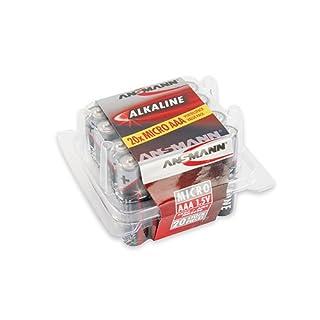ANSMANN Alkaline Batterie RED, Micro AAA, 20er Blister