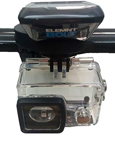 TUFF LUV - Soporte Doble para Manillar de Bicicleta para cámara Wahoo...