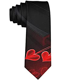MrDecor Corbata de Flecha para San Valentín para Hombre