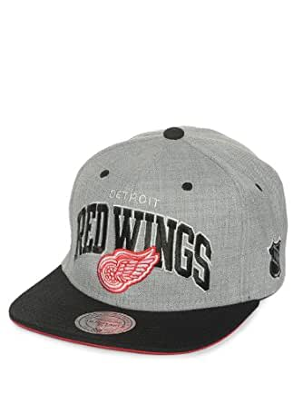 Mitchell & Ness NHL Detroit Red Wings Casquette UNIQUE, grey