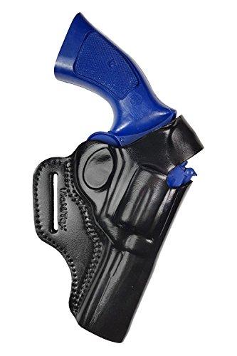VlaMiTex R4 4 Zoll Lauf Leder Revolver Holster für RUGER GP100 / SP101 (Für Revolver Holster)