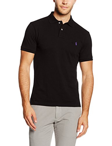 polo-ralph-lauren-mens-ss-kc-slim-fit-ppc-shirt-black-schwarz-polo-black-a00pb-l
