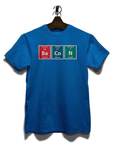 Bacon Elements T-Shirt Royal Blau
