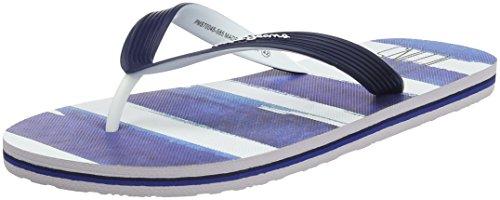 Pepe Jeans London Herren hawi Brush Zehentrenner Blau (Marine)