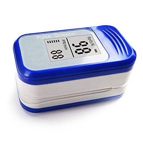 XXGI Finger Pulsoximeter Und Fingertip Pulsoximeter Pulsmesser Und Blutsauerstoffsättigung & Erkennung Finger Sauerstoff-Clip Mit Led-Anzeige Für Kind Erwachsene (6,1X3,4X3,05Cm/2,4X1,34X1,2 Zoll)